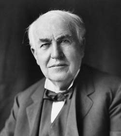 Thomas A. Edison - Author Quotes