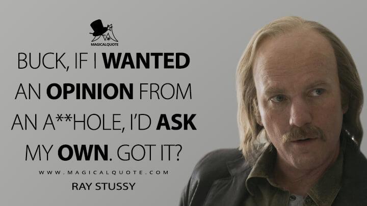 Ray Stussy season 3