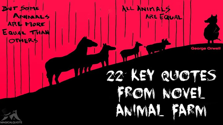 22-Key-Quotes-from-Novel-Animal-Farm