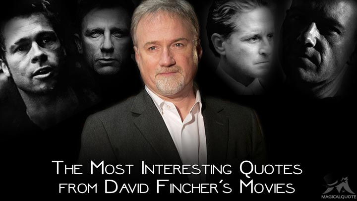 The Most Interesting Quotes from David Fincher's Movies