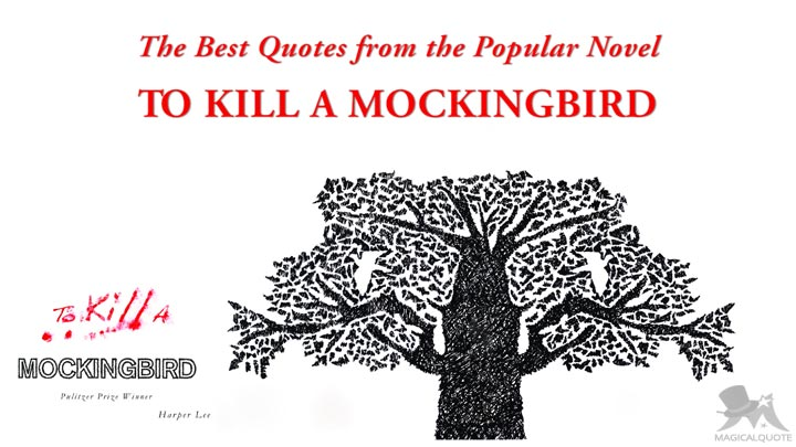 the best quotes from the popular novel to kill a mockingbird  the best quotes from the popular novel to kill a mockingbird
