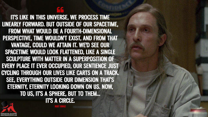 Image result for rust cohle time quote