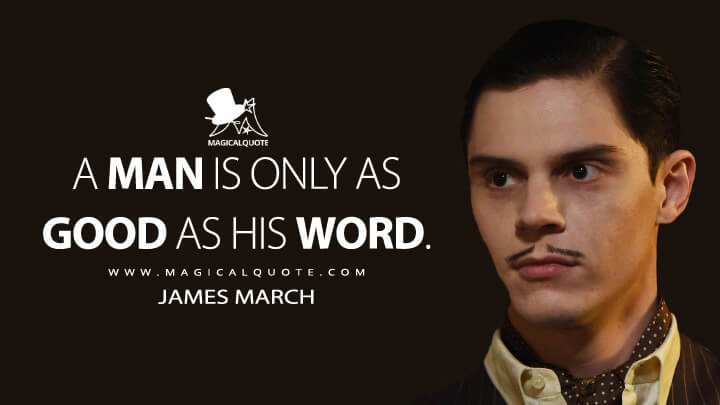 A Man Is Only As Good As His Word Magicalquote