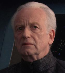 Supreme Chancellor Palpatine - Star Wars Quotes