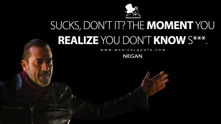 Image result for negan quotes