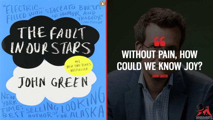 Without Pain, How Could We Know Joy? - John Green (The Fault in Our Stars Quotes)