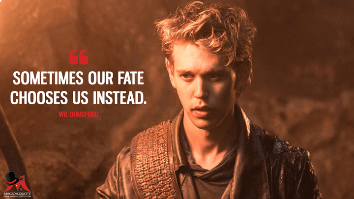 Sometimes our fate chooses us instead. - Wil Ohmsford (The Shannara Chronicles Quotes)