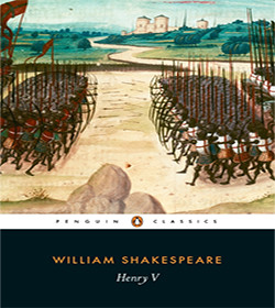 William Shakespeare - Henry V Quotes