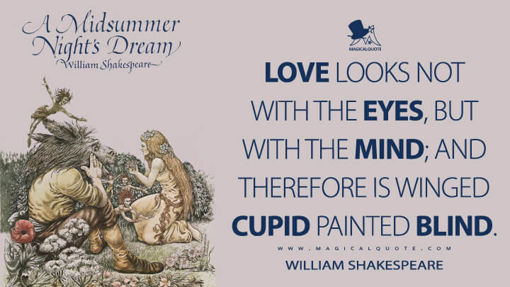 A Midsummer Night's Dream Quotes MagicalQuote Interesting Midsummer Night's Dream Quotes