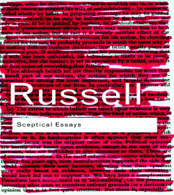 Bertrand Russell (Sceptical Essays Quotes)